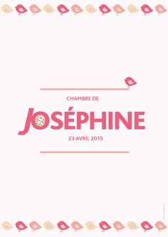 Affiche de Chambre Joséphine