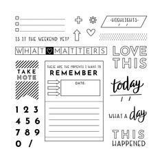 March 2019 CTMH stamp of the month. Daily Planner Pages, Date Today, Close To My Heart, Journal Cards, Cool Cards, Create Yourself, About Me Blog, In This Moment, Shit Happens