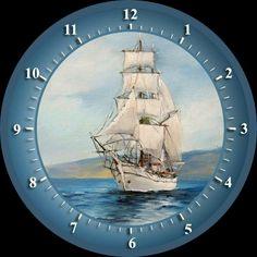 Clock Craft, Paisley Art, Circle Art, Round Pendant, Disney Drawings, Vintage Postcards, Old Houses, Digital Image, Dollhouse Miniatures