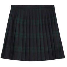 McQ Alexander McQueen Tartan pleated wool mini skirt (1.300 BRL) ❤ liked on Polyvore featuring skirts, mini skirts, bottoms, alexander mcqueen, saias, pleated skirt, short mini skirts, mini skirt, navy blue skirts and plaid pleated mini skirt