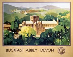 Included because of its Scottish connections. Great Western Railway poster. Artwork by Claude Buckle.
