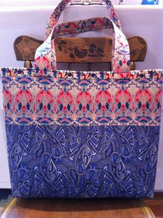 Liberty of London fabric tote bag