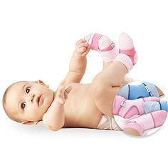 Sock Ons (Sized) These are super helpful with a kick happy baby! #CottonBabies