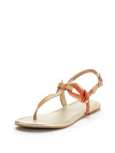 50f1fbd4dc07 from Club Monaco · Breeze Combo T-Strap Sandal from Shoe Guide  Flat Sandals  on Gilt