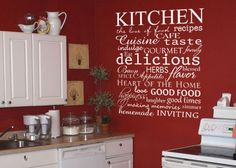 Kitchen+subway+art++vinyl+wall++decal+by+GrabersGraphics+on+Etsy,+$28.00