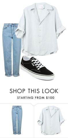 """Outfit of the day"" by hjward100 on Polyvore featuring Topshop and Vans"