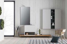 Collezione bagno design contemporaneo, Mobili bagno in Fenix NTM®