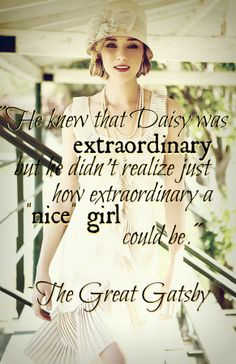 Nice girl more great gatsby quotes girls rules girl power quote
