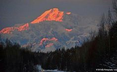 Sunsetting over Mt.McKinley