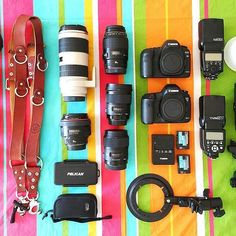 #MyCameraBag by @as ever photography ・・・ This is what a gear layout looks like in a Sicilian beach apartment!  Everyone keeps wondering why I have so much luggage with me. (The film gear didn't fit in this photo, but don't worry, it's here too.)