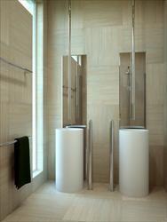 Bamboo Ivory - Bathroom View