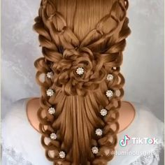 Top 15 Hairstyles For Women With Thick Hair – Crafts Hairstyles For Medium Length Hair Easy, Hair Tutorials For Medium Hair, Medium Hair Styles, Braided Hairstyles, Long Hair Styles, Messy Hairstyle, Hairstyle Wedding, Hair Videos, Hairstyles Videos