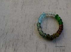 Beer - Wine and gin recycled beads