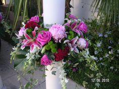 Ανθοστολισμός γάμου - βάφτισης στον Αγ.Νικόλαο στην Γλυφάδα #lesfleuristes #λουλούδια #ανθοσύνθεση #ανθοπωλείο #γλυφάδα #γάμος #βάφτιση #νύφη #δεξίωση Plants, Wedding, Valentines Day Weddings, Plant, Weddings, Marriage, Planets, Chartreuse Wedding