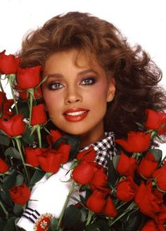 """vanessa williams 1980s No matter what people say and beyond the fact that they took her crown, Vanessa always gets mad props from this """"little black girl"""" who was proud to see another black girl shine back in the day!"""