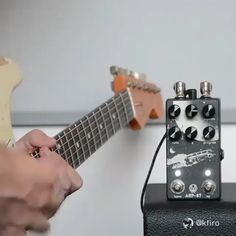 audio video The super talented using this wonderful reverb delay pedal. With four master algorithms Digital, Analog, Lo-Fi, and Slap the Walrus Audio multi-function guitar Music Theory Guitar, Guitar Chords For Songs, Music Guitar, Playing Guitar, Guitar Rig, Ukulele, Cool Guitar, Guitar Effects Pedals, Guitar Pedals