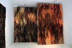 Gunvor Nervold Antonsen, Luminous [ruby] and Luminous [spectral], 2010