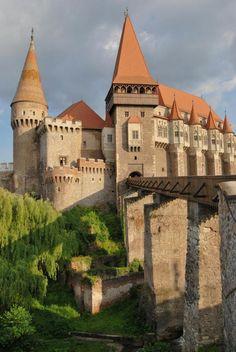 Hunyad Castle - Hunedoara, Romania.