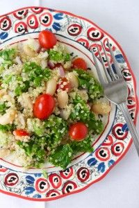 This super healthy quinoa salad is so packed full of flavor that you'll want to finish it all yourself!