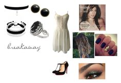"""""""Breakaway by Kelly Clarkson"""" by themortalinstrumentslover ❤ liked on Polyvore featuring WithChic, Christian Louboutin, Bling Jewelry, Karen Kane, Topshop, women's clothing, women, female, woman and misses"""