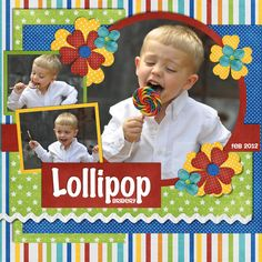Lollipop Bribery - Scrapbook.com