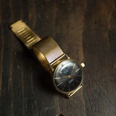 Very rare Gold plate watch Poljot de luxe Vintage от Trulesorub
