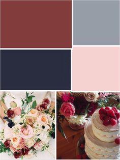 marsala color pallette