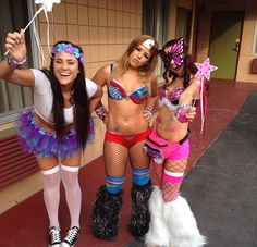 Halloween rave outfits