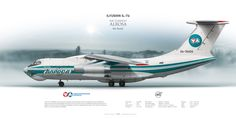 Ilyushin Il-76 Air Company ALROSA RA-76420  | www.aviaposter.com | #airliners #aviation #jetliner #airplane #pilot #aviationlovers #avgeek #jet #sideplane #airport #il76