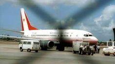 2014 - 11 de Abril - Humala no podrá regresar a Lima en el avión presidencial, Aviación de Canadá no autoriza partida luego del desperfecto que sufrió la nave y que impedía que apareciera en radares