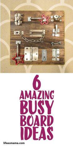 6 Amazing Busy Board Ideas