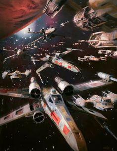 Rebellion starfighter strike
