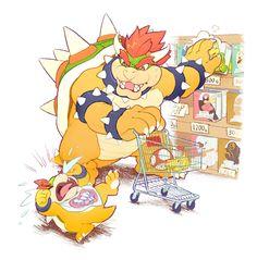 """some okayish draws"" Super Smash Bros, Super Mario Bros, Mundo Super Mario, Super Mario Kunst, Super Mario Brothers, Nintendo Game, Nintendo Characters, Super Mario World, Metroid"