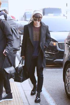 jimin + airport fashion