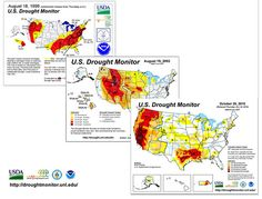 Us Drought Monitor Chart Evolution