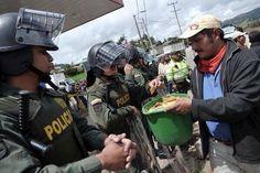 ¿Campesinos desalmados? Cuidan hasta a sus agresores. (Del muro de #FB de Arturo Vidal)