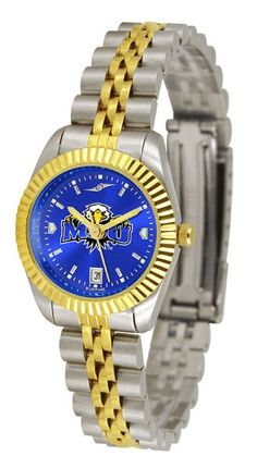 Ladies Morehead State University Eagles - Executive AnoChrome Watch
