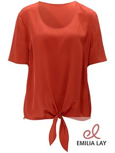 Elegantes Blusen-Shirt mit 1/2-Arm von Anna Aura
