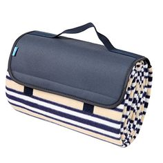 Yodo WaterResistant Picnic Blanket Tote for Outdoor Camping Summer Stripe ** Check out this great product.