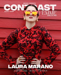 Dior, Laura Marano, Vogue, Mirrored Sunglasses, Contrast, Photoshoot, Magazine, Actors, Model