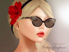 Glam Affair Vintage Sunglasses - 6 recolors available - 88L each