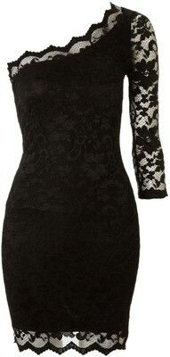 Black lace dress. Want for wedding season.