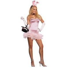 sexy rabbit costume Bunny Halloween Costume, Playboy Bunny Costume, Easter Bunny Costume, Rabbit Costume, Halloween Outfits, Halloween Clothes, Halloween Makeup, Happy Halloween, Girl Costumes
