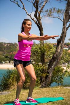 Rachael Finch's 20-Minute Full Body Workout SheSaid
