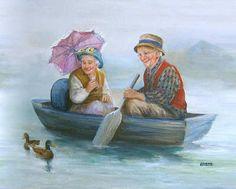 Dianne Dengel mutluluk masalları çizen kadın..