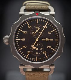 Bell & Ross WW2 Bomber Regulateur