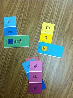 Onsets and Rimes for Word Work