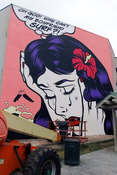 Dface unveils a new mural in Honolulu