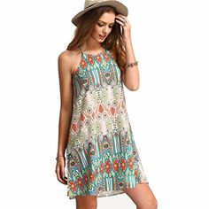 Laimeng Retro National Style Loose Sling Sleeveless Dress XL * Check out the image by visiting the link.