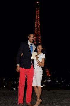 The Cutest Couple Ever Gets Engaged on A Surprise Trip to Paris Best Proposal Ever, Best Proposals, Cutest Couple Ever, Getting Engaged, Cute Couples, Paris, Montmartre Paris, Adorable Couples, Paris France